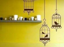 الرسم علي الجدران والحوائط