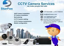 CCTV camera security solution in Qatar