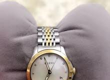 ساعة قوتشي مع الماس