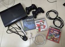 Play Station 3 Slim (+ 2 controllers) (+3 Games) Bundle For sale