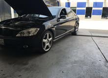 Black Mercedes Benz S 500 2006 for sale