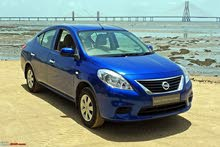 NISSAN SUNNY 2012 MODEL 1.3 INDIAN MADE FOR SALE IN SHARJAH