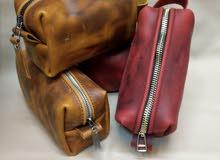 حقيبة دوبكيت صناعه يدوية جلد طبيعي
