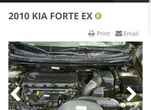 Gasoline Fuel/Power   Kia Forte 2010