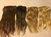 شعر طبيعي 100