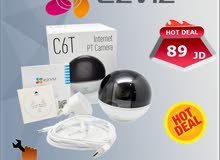 كاميرا الانترنت المنزلية المتحركة EZVIZ C6T