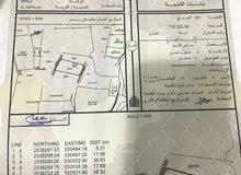 ارض سكني للبيع منطقة بهلاء السفاله مفتوحه من جميع جهات مساحتها 715 متر