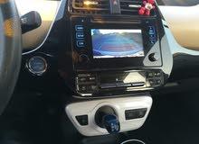 سيارة بريوس 2017 للضمان على التطبيقات الذكية