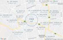 يوجد شقق للايجار غرفتين ومطبخ وحمام وصاله اربد المجمع الشمالي بالقرب من مسجد مكة