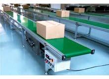 تفصيل وتصنيع السيور الناقله ال conveyor بكافة انواعها للماكينات كذلك بمصنعنا