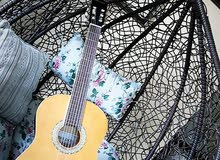 جيتار نوع melody الماني احترافي اصلي خشب كامل استعمال اقل من اسبوعين