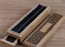 أفخم انواع العود ذاتي الاحتراق في صندوق خشبي راقي