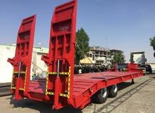 Low Deck Trailer 02 Axle Heavy duty for sale