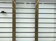 تجهيز محلات الكوزمتك عارضات رفوف وعمل ديكورات جميع المحلات التجارية
