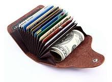 محفظه لامان الكروت الائتمان والهويات والنقود