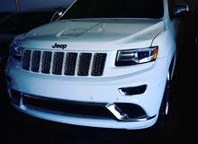 jeep grand Cherokee summit 5.7 2015 جيب جراند شيروكي