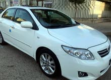 White Toyota Corolla 2009 for sale