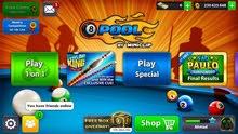 حساب 8ball pool في 200 مليون للبيع  15 دينار