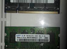 Ram 1gb 2gb laptop للبيع