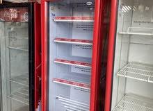 coca cola fridge working good clean
