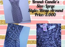 Wrap Around Midi Dress - Brand: Candie's