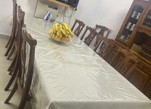 طاوله سفره مع فدرينا (النيش) للبيع