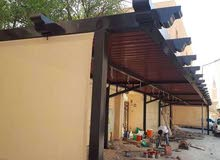 جميع اعمال الحداده وتبدل خام المظلات وعمل مظلات PVC او كيربي او خام