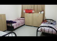 مويلح -شقة غرفتين وصالة في ثلاث برتيشن