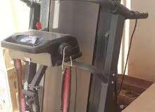 treadmill with massager جهاز مشو و جهاز مساج