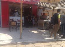 مطعم شاورما للضمان موقع مميز حي نزال