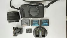 Fumifilm XT100+15-45 lens+Original battery +2 wasabi battery +sd card+lcd screen