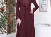 وصلنا حديثاً  فستان  قماش بمبه تركي      السعر 38  الف  القياس 40 لل