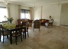 شقة سوبر ديلوكس مساحة 225 م² - في الدوار السابع للايجار مفروشة