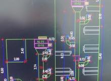 مهندس ميكانيكا تبريد وتكييف أجيد تصميم المباني والفنادق والعمائر علي الاوتوكاد