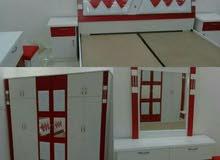 غرف نوم وطني جديد بألوان مختلفه جاهزة للتركيب