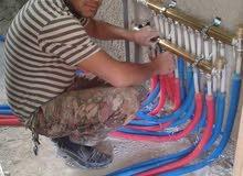 الحسام للتمديدات الصحيه والكهربائية  صاينة بويلرات تدفئة مركزيه  تسليك الصرف الص