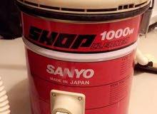 مكنسه كهربائية ماركة SANYO صناعة ياباني