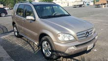 Mercedes Benz ML car is available for sale, the car is in Used condition
