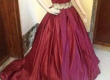 فستان محضر او بيان للبيع 400 فقط