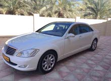 White Mercedes Benz S350 2009 for sale