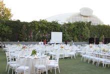 حجز صالة / مطعم the dome  للزفاف wedding في طريق المطار بسعر مغري جدا