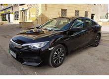 Grey Honda Civic 2018 for rent