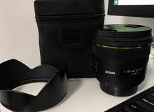 Sigma 50mm f1.4 DG HSM عدسة سيجما لكانون