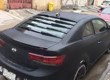 Black Kia Cerato 2010 for sale