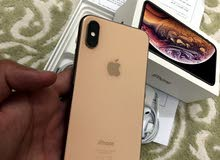 iphone XS gold 256GB with warranty and all accessories