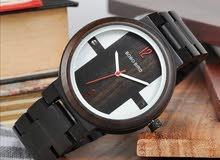 ساعات يد خشبية