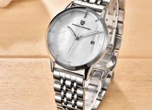 للبيع ساعة فاخرة من شركة باجاني ديزاين نسائية