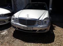مرسيدس E200 موديل 2008 . 2009 رقم الهاتف (0941083154)