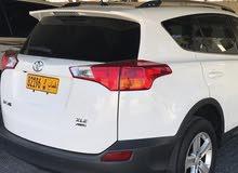 For sale 2013 White RAV 4