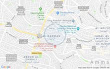 شقه ارضية مع حديقه و باربيكيو - جبل عمان قرب سفارة الجزائر